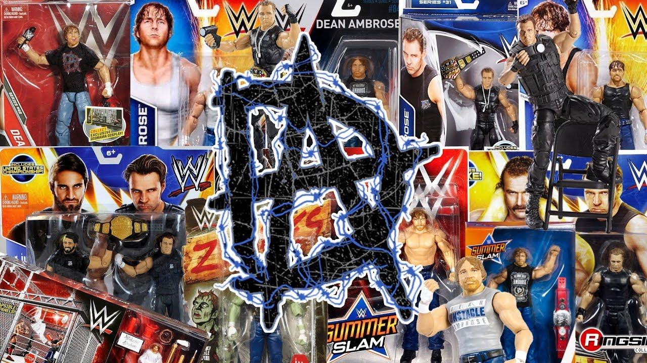 WWE Wrestling Mattel Basic Battle Then Now Heritage Series Brian Pillman Figure