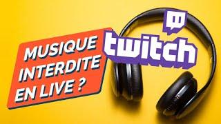 TWITCH : va-t-il falloir couper la musique des jeux en stream ?