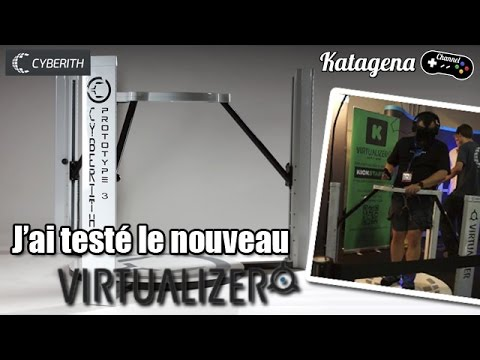 Virtualizer Cyberith - Prototype 3 en test à la Gamescom ! [Video FR / Francais]