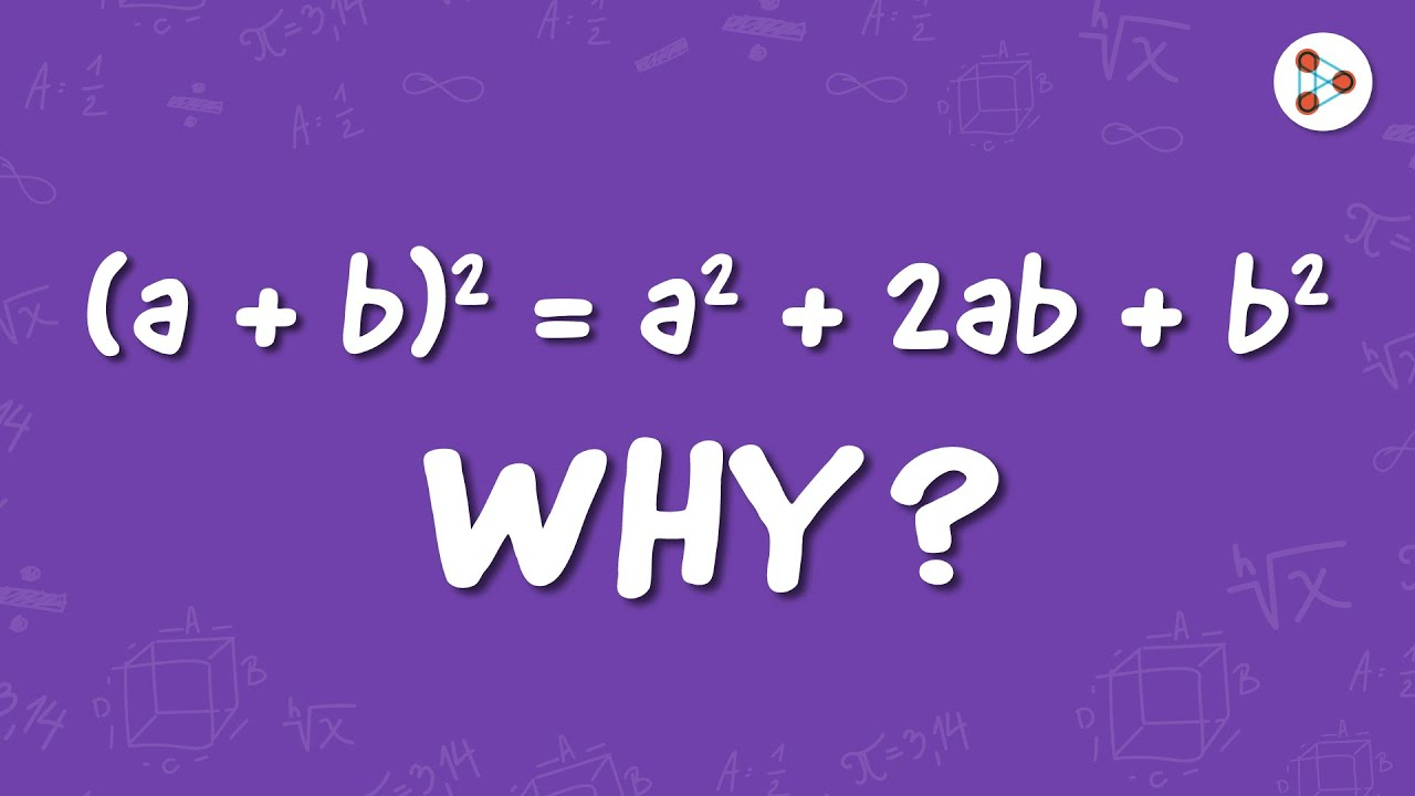 Why is (a + b)² = a² + 2ab + b² | One Minute Bites | Don't Memorise