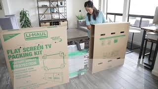 How the U-Haul Flat Screen TV Box Makes Moving a TV Easier