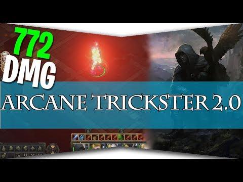 Pathfinder:Kingmaker - Arcane Trickster Build 2.0
