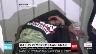 Penangkapan Pelaku Pemerkosaan Anak SD di Makassar
