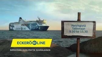 Eckerö Line aikataulu