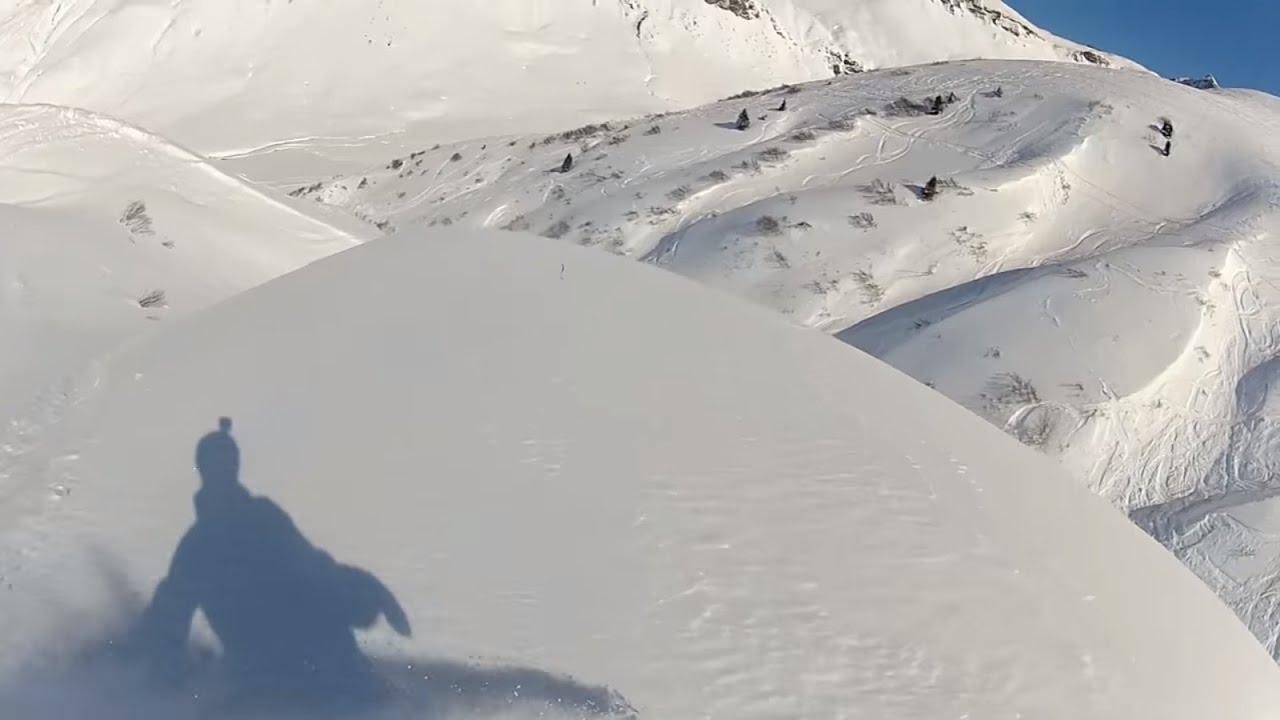 Freeride st anton lech zurs am arlberg march 2016