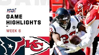Texans vs. Chiefs Węek 6 Highlights | NFL 2019