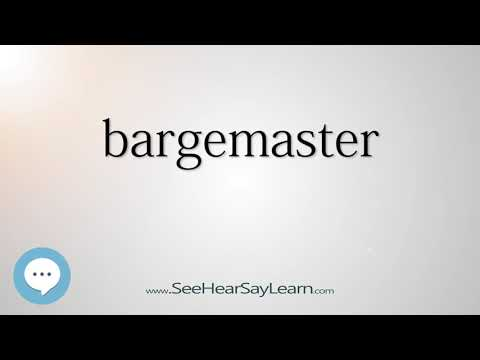 bargemaster - Smart & Obscure English Words Defined 🗣🔊