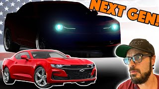 Chevy Camaro Redesign - Less NONSENSE, more MUSCLE