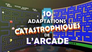 10 Adaptations catastrophiques de l'Arcade