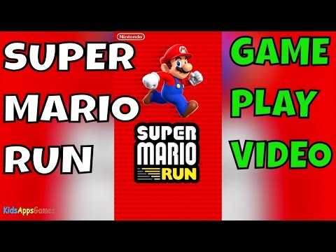 Super Mario Run iPhone iOS Gameplay Video World 1 - Including defeating boss Bowser 🏃🐲 thumbnail