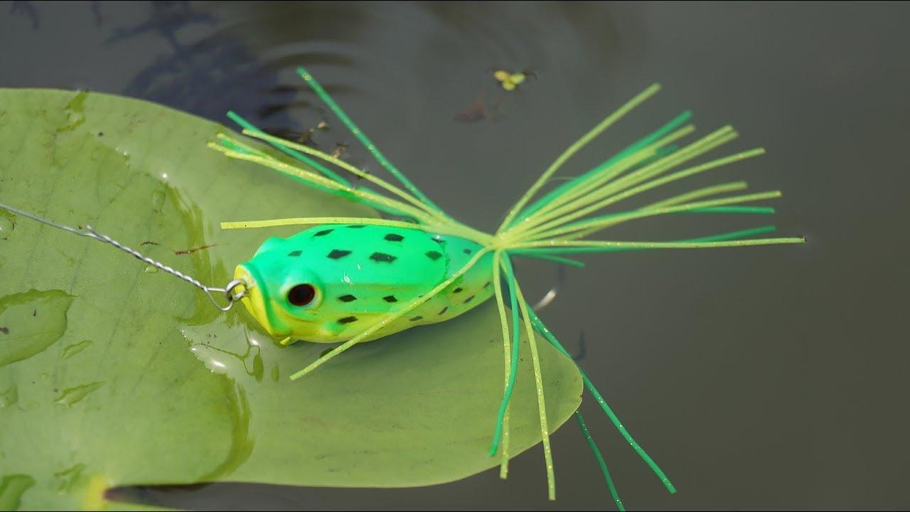 Лягушка-незацепляйка! Шикарная рыбалка и приключения! Ловля щуки на лягушку.