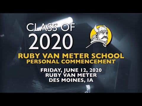 2020 Ruby Van Meter School Personal Commencement