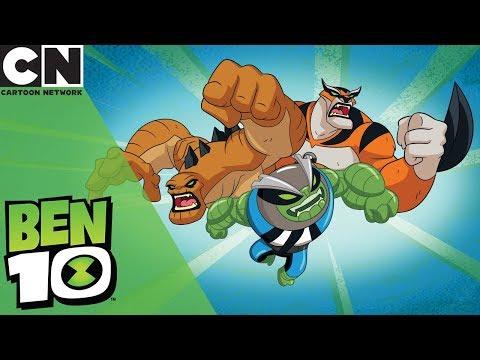 Ben 10 | Slapback, Humungosaur and Rath Transformations | Cartoon Network
