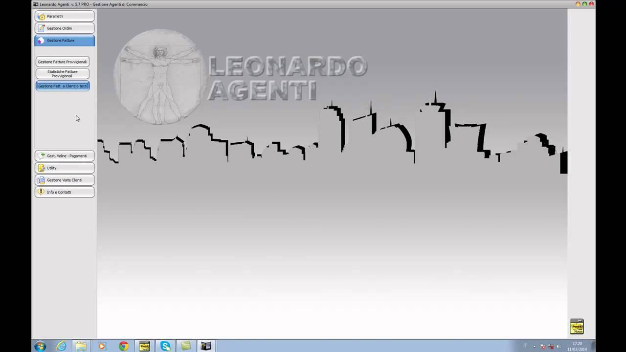 Leonardo Agenti di Commercio - Gestione Fatture - YouTube