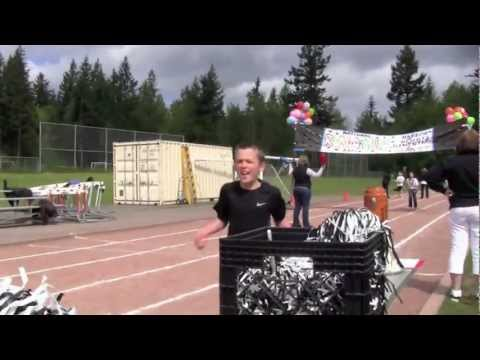 National Run a Mile Day at Harbor Heights Elementary School in Gig Harbor, WA