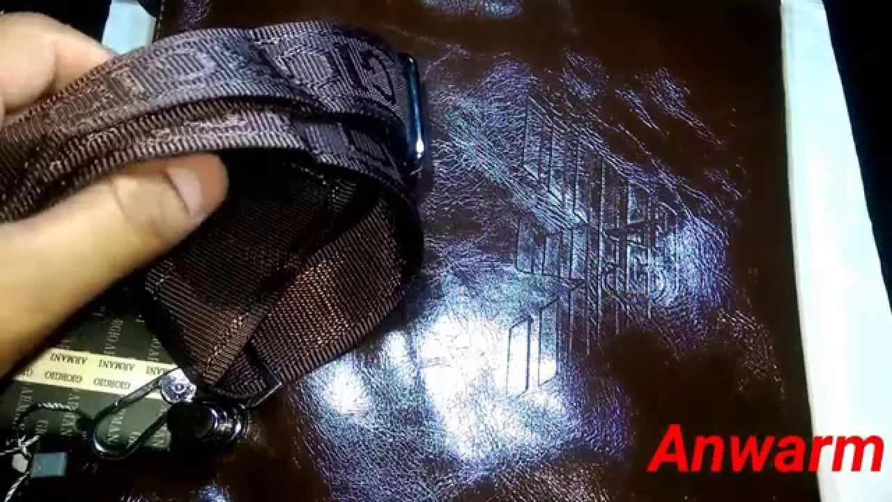 35aea302ca29 How to Spot Fake Giorgio Armani Shoulder Bag - YouTube