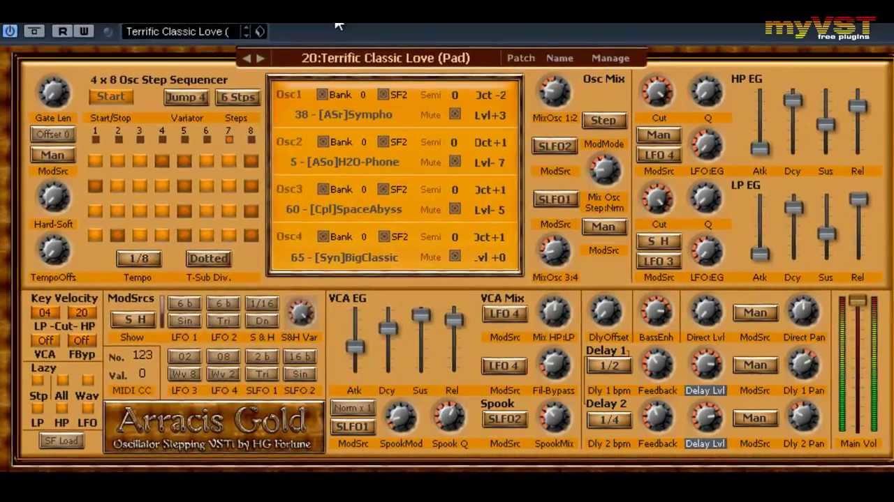 vsti Arracis Gold Pro plugin gratuit