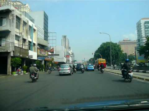 Streets of Jakarta - viewed by BlueBird taxi