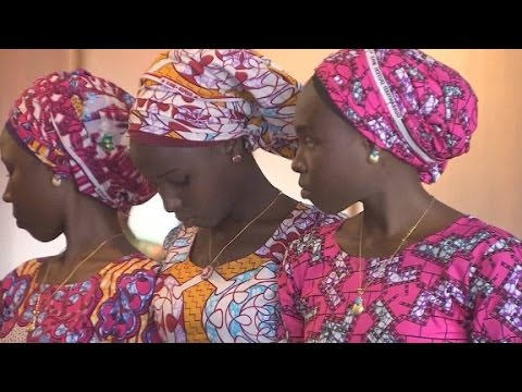 Freed Chibok girls eager to return home