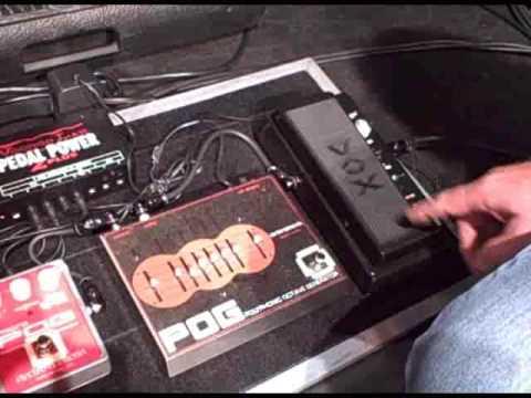 Joe Satriani's live Chickenfoot guitar rig