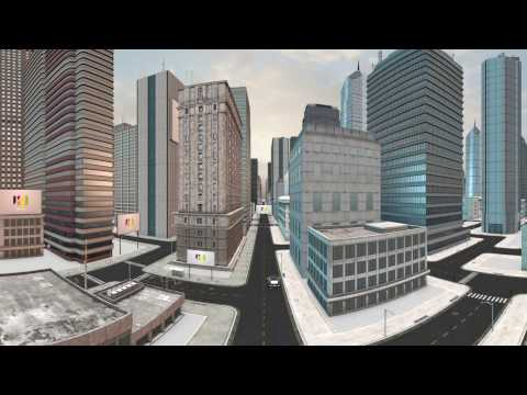 City in 360 Video - UP Multimedia Production