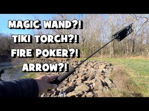 Fishing w/ the WEIRDEST ROD EVER!!! WHAT WAS THAT?! Ft. Catfish and Carp, & Tommy! (Doylestown, PA)