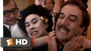 The Return of the Pink Panther (10/10) Movie CLIP - Beware of Japanese Waitress (1975) HD
