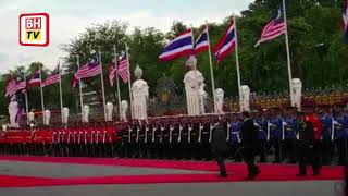 PM accorded an official welcoming ceremony at the Government House