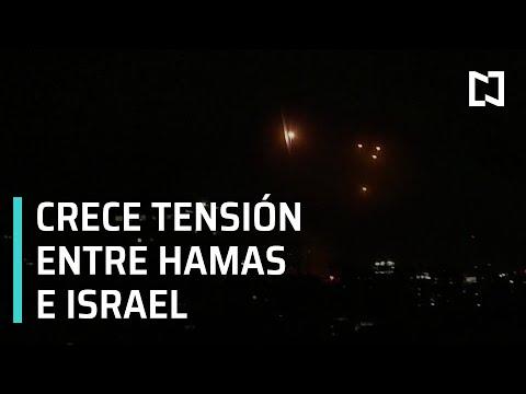 Escala conflicto entre Hamas e Israel; reportan derrumbe de edificio - Las Noticias