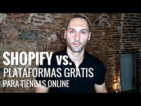 Qué Plataforma Usar Para Crear Una Tienda Online | Shopify Vs Plataformas Gratis