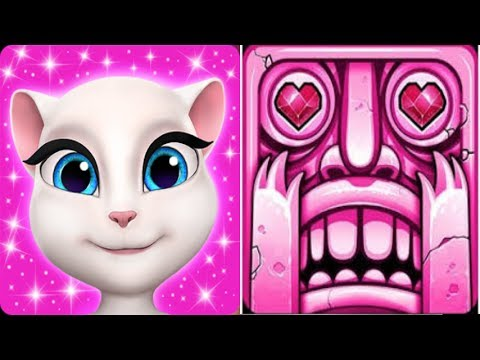 My Talking Angela^Level 2000*Vs Temple Run 2^Sky Summit^Cleopatra*Gameplay make for kid #199