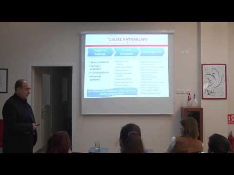 İSG UZMAN Eğitimi Part 6 (Turgay Boduroğlu Eski ÇSGB İş Müfettişi)- Atılım Çevre OSGB