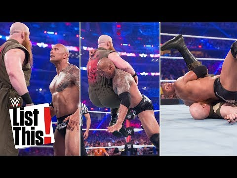 5 shortest WrestleMania matches: WWE List This!