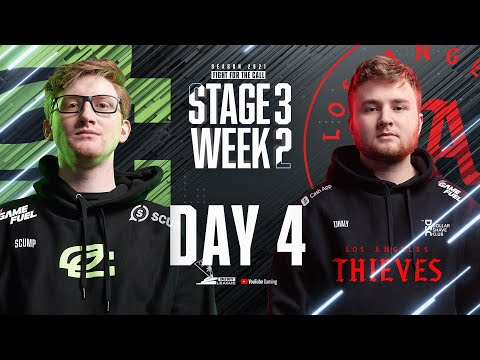 Call Of Duty League 2021 Season | Stage III Week 2 — Paris Home Series | Day 4
