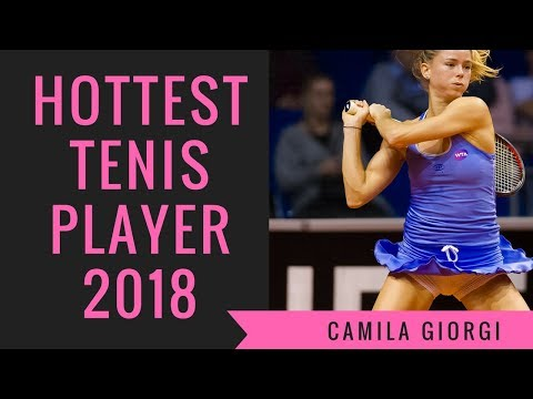 Camila Giorgi 2018 - Hottest Tennis Player Alive - Great Legs