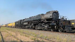 Union Pacific Big Boy 4014 Steam Train 2021 Southern Tour Final Day Denver To Cheyenne 9721