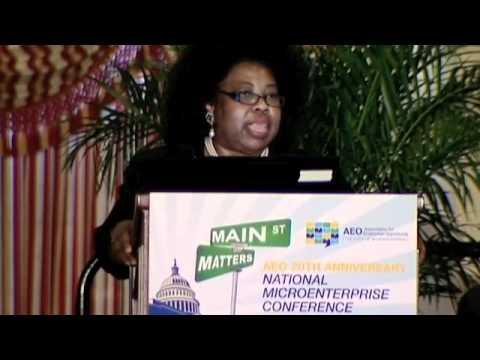 Connie Evans, CEO Association for Enterprise Oppor...