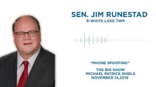 Sen. Runestad discusses phone spoofing on The Big Show