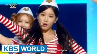 T-ARA - So Crazy | 티아라 - 완전 미쳤네 [Music Bank HOT Stage / 2015.08.14]