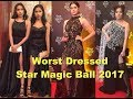 Worst Dressed at STAR MAGIC BALL 2017 - Celebrities with Mediocre to Shocking Outfits