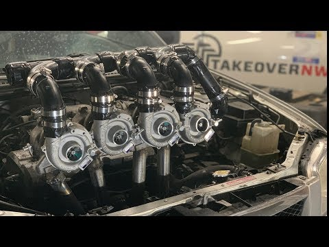 Sketchy Quad Turbo Mazda Protege Is No Bugatti Chiron