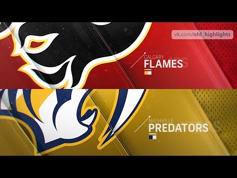 Calgary Flames vs Nashville Predators Oct 9, 2018 HIGHLIGHTS HD