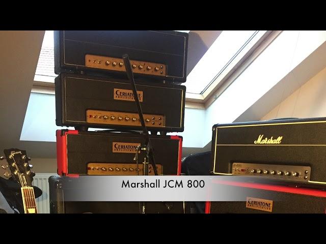 Comparison #2 of Ceriatone 2555, SLP '67, JTM 4    - With