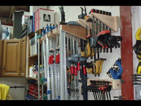 Simple Clamp Rack Build