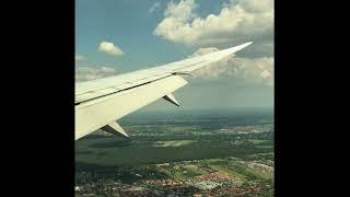 ワルシャワ・ショパン空港(ポーランド) - landing