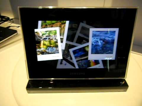 700z Samsung Introduce Amoled Photo Frame Youtube