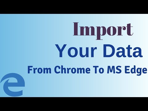 How To Import Passwords, Browsing History, Cookies from