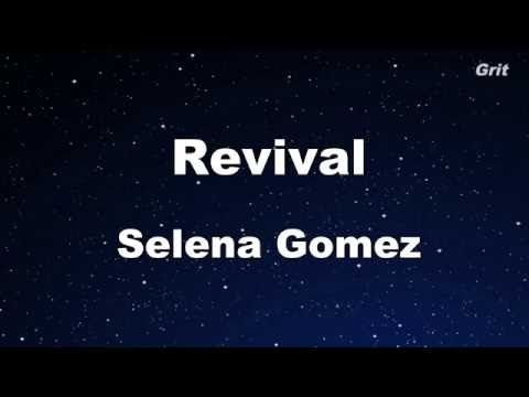 Revival - Selena Gomez Karaoke【With Guide Melody】