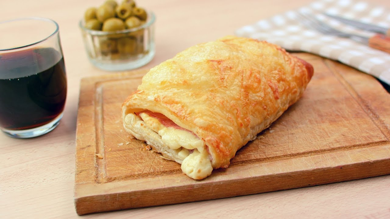 maxresdefault - Ham & Cheese Croissants - Easy Ham & Cheese Puff Pastry Croissant Recipe