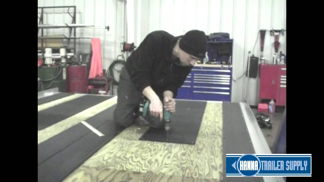 Slide Guides Inc Snowmobile Traction Mat Installation